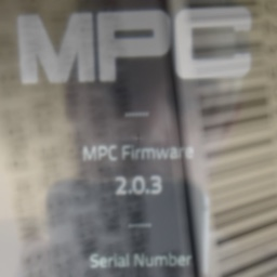 Firmware cover artwork