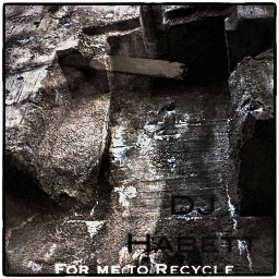 For me to Recycle EP cover artwork