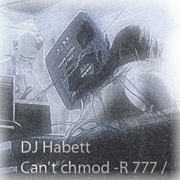 Can't chmod -R 777 slash cover artwork